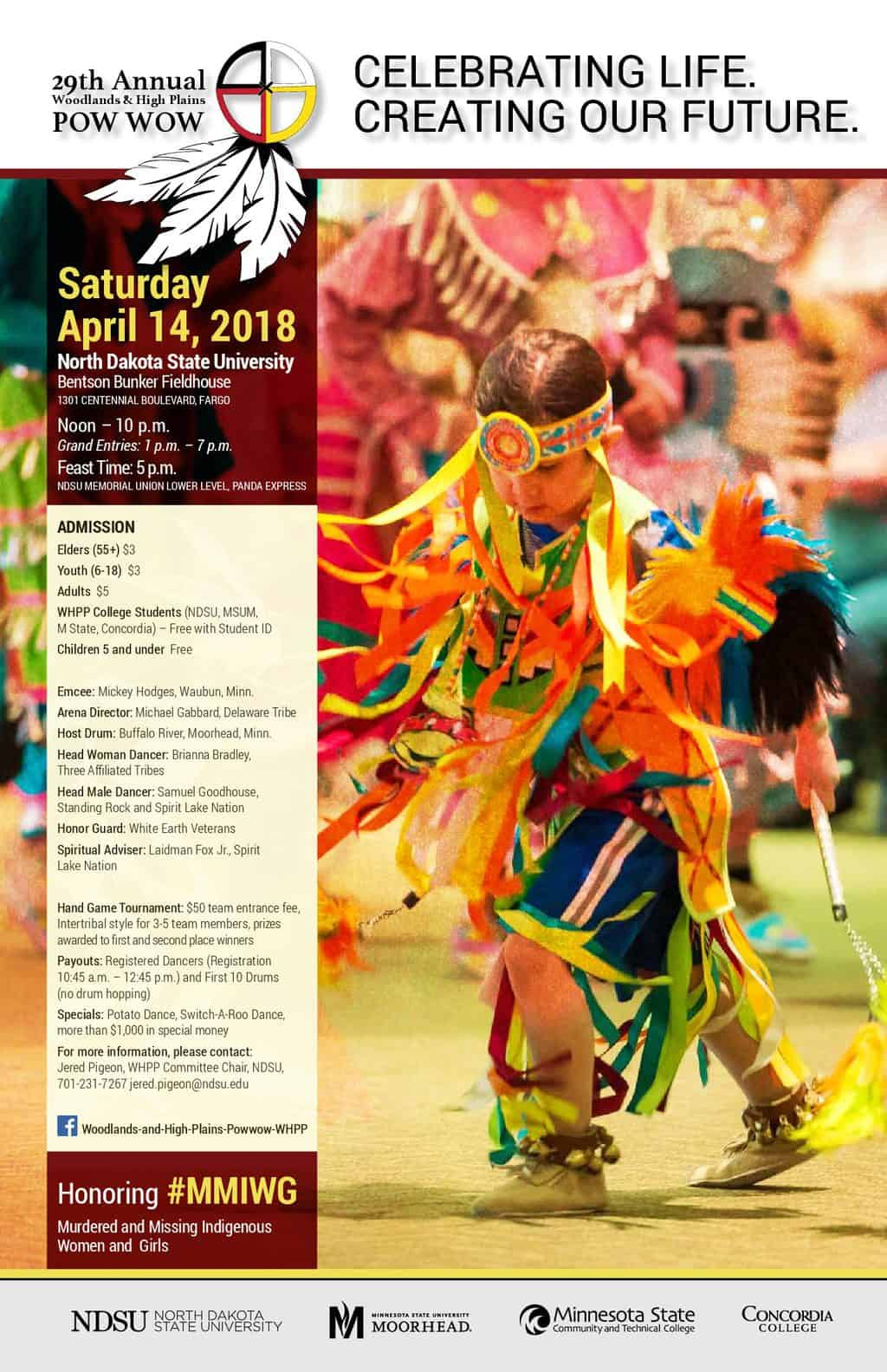 29th Annual Woodlands & High Plains Traditional Powwow (2018