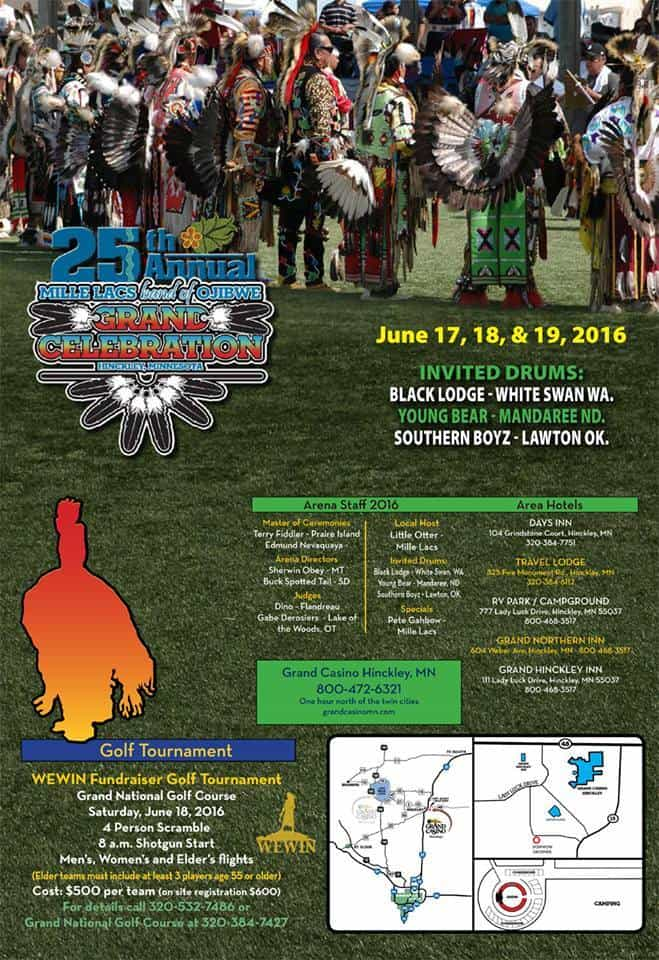 25th Annual Mille Lacs Band Of Ojibwe Grand Celebration