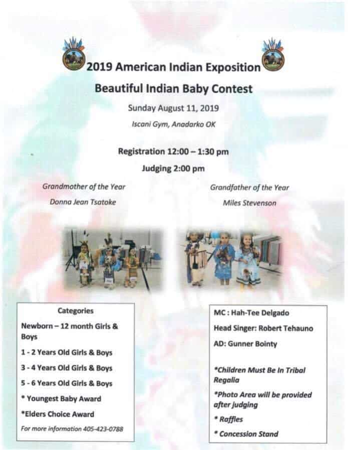 2019 American Indian Exposition - Beautiful Indian Baby Contest
