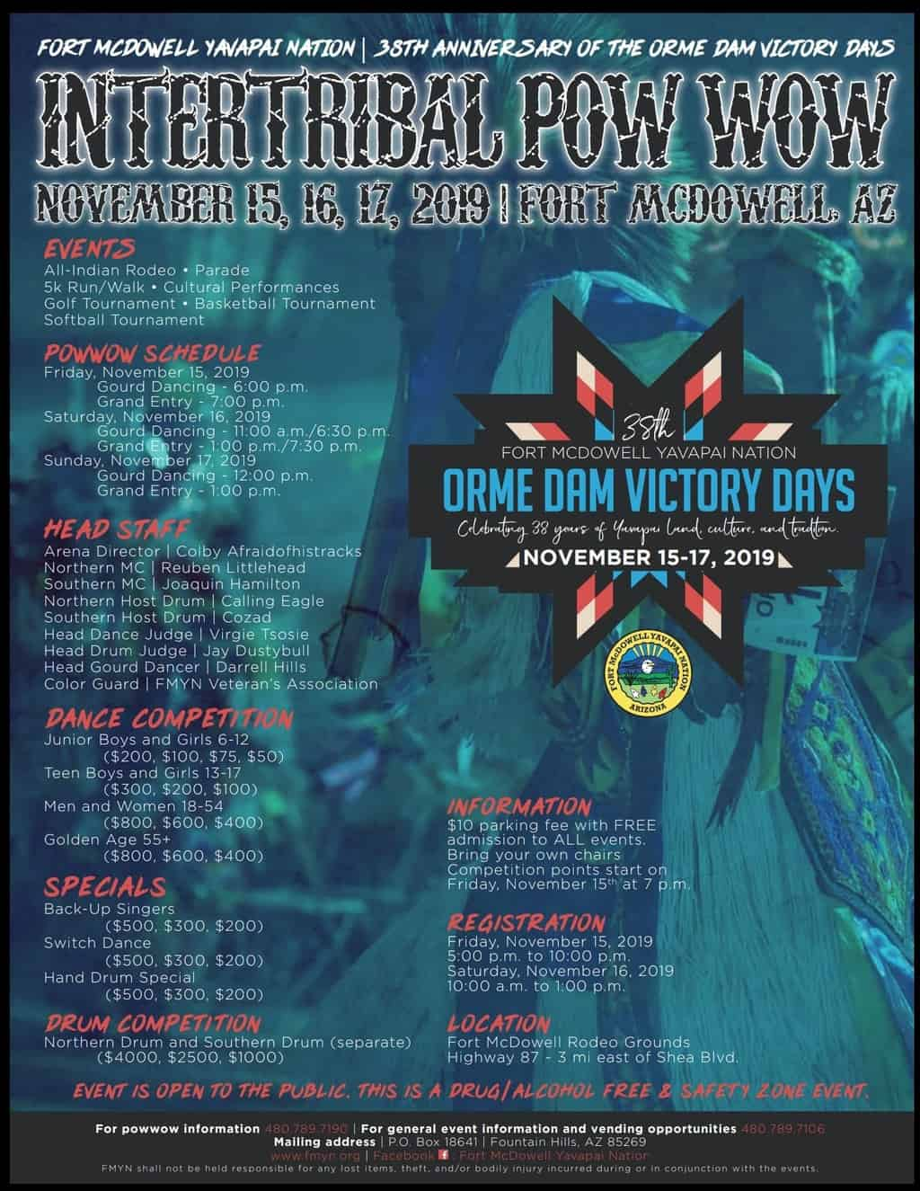38th Anniversary Of The Orme Dam Victory Days Intertribal