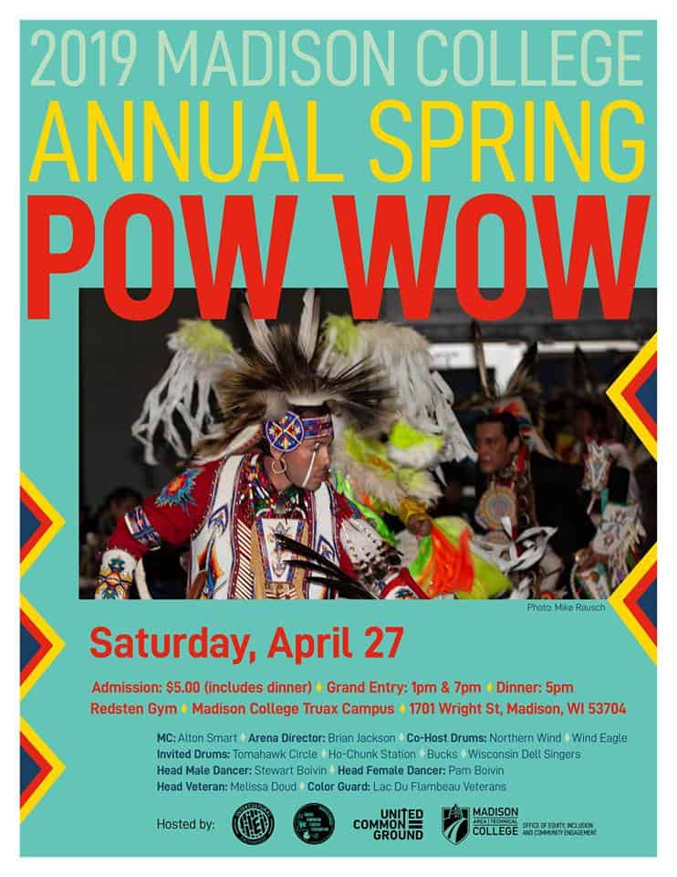 Madison College Annual Spring Pow Wow (2019)