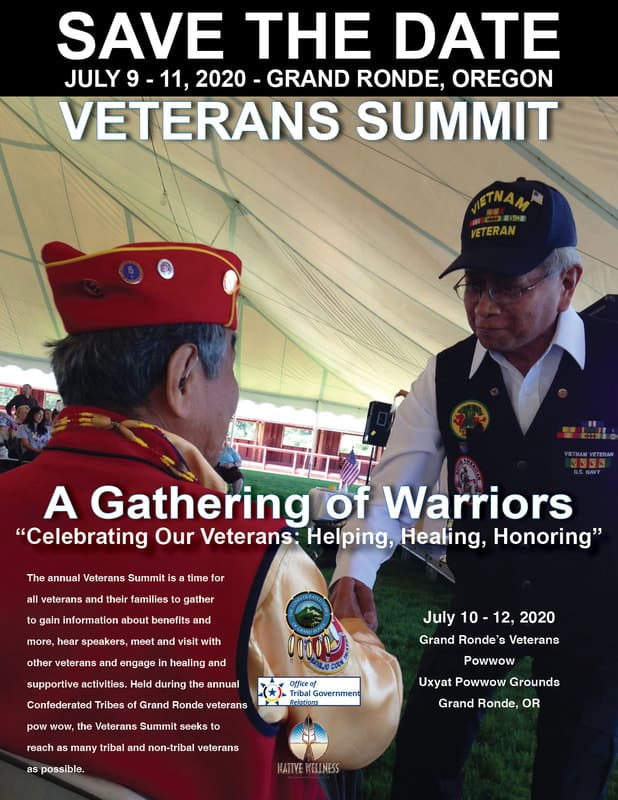 NWI July 2020 Trainings - Veterans Summit - A Gathering of Warriors