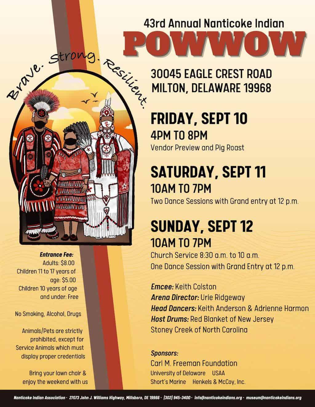 Nanticoke Indian 43rd Annual PowWow 2021