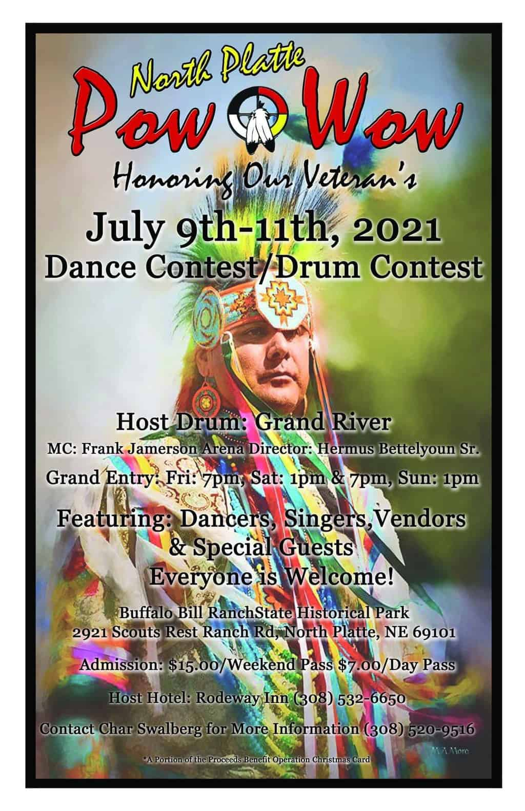 North Platte Pow Wow Honoring our Veterans