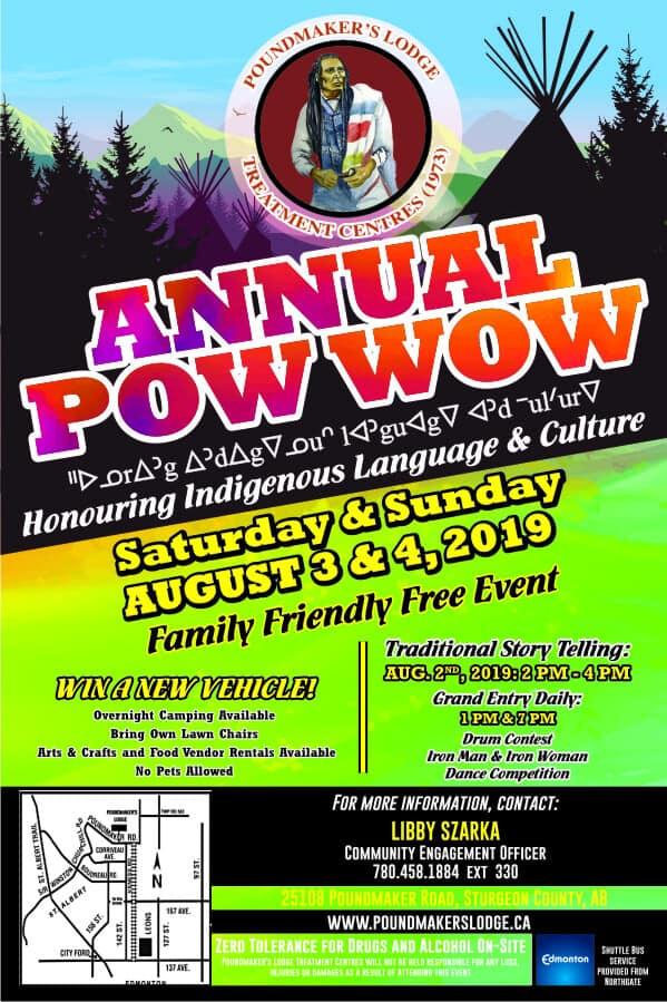 Poundmaker's Lodge Annual Pow Wow (2019)