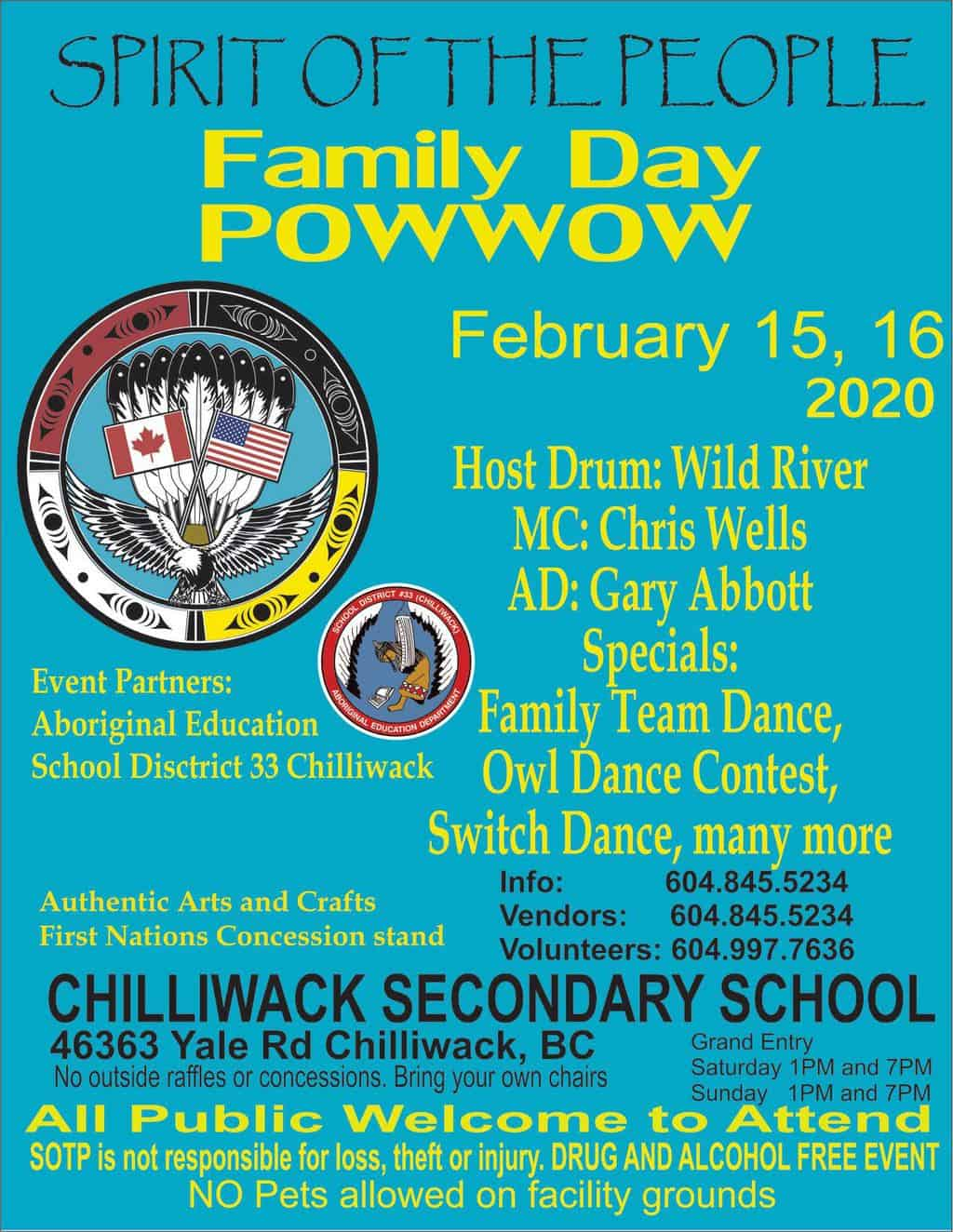Spirit of the People - Family Day Powwow