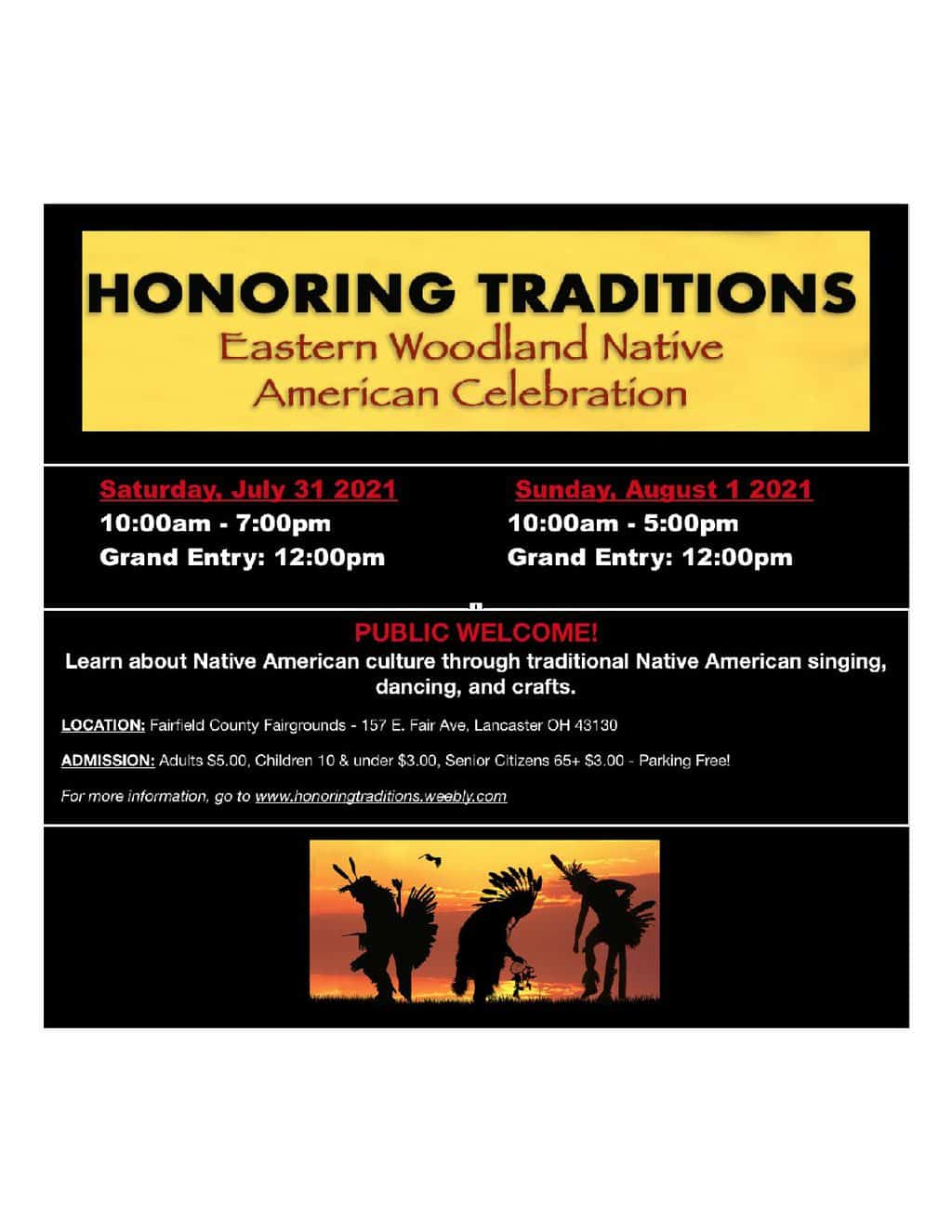 Honoring Traditions - Eastern Woodland Native American Celebration